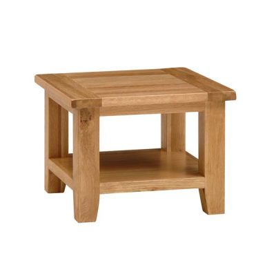 NB009 Square Coffee Table with Shelf