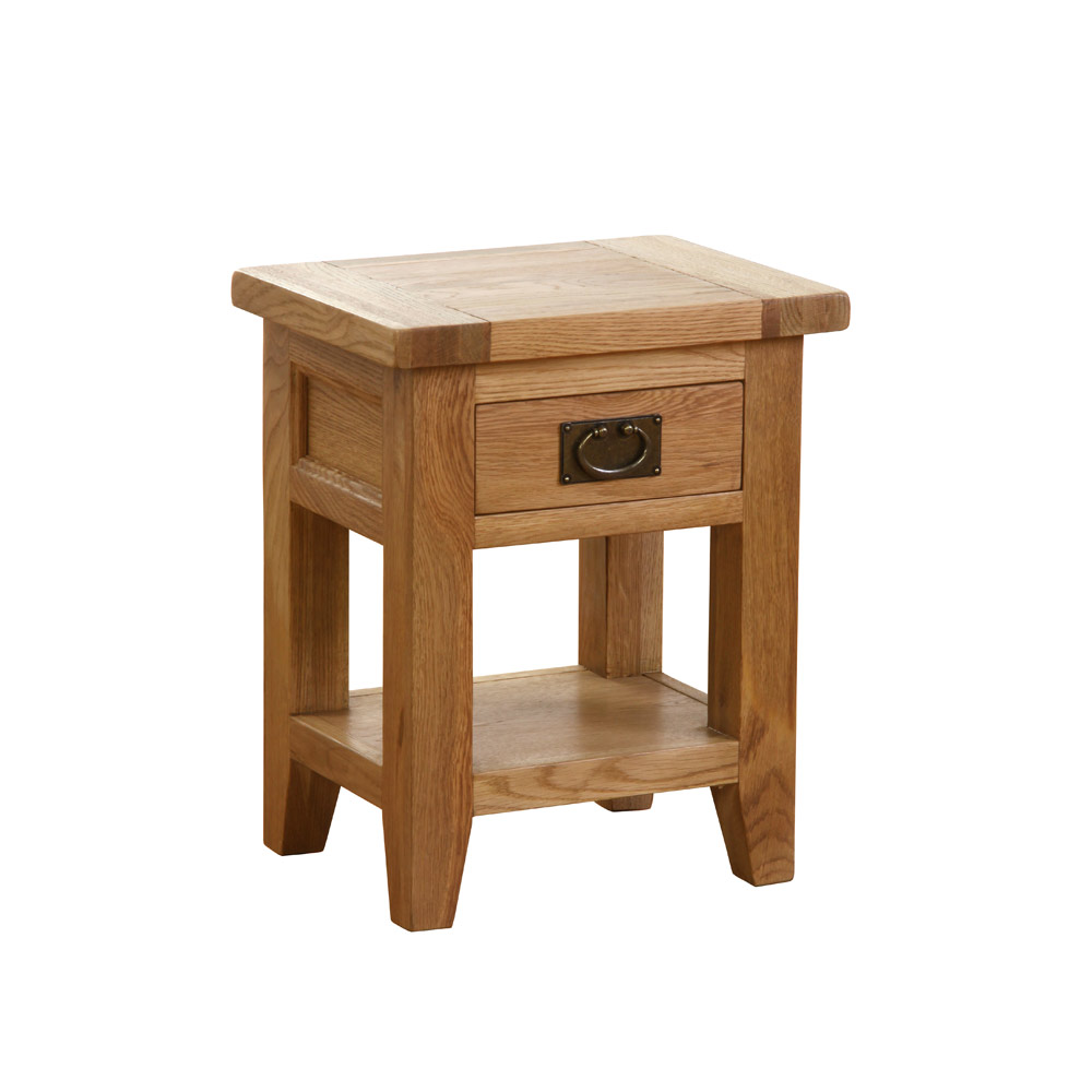 Vancouver Petite 1 Drawer 1 Shelf Bedside Table | Simply ...