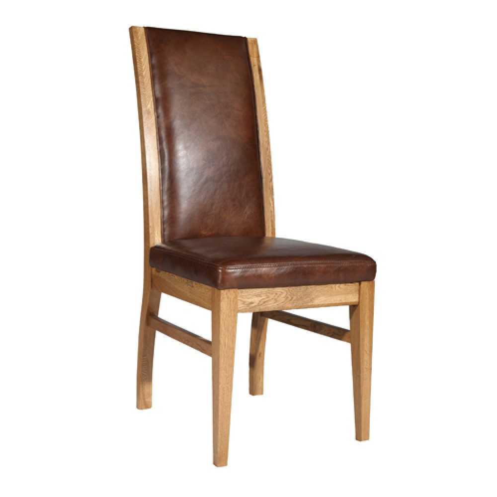 Reggio leather dining chair simply stunning furniture for Z dining room chairs