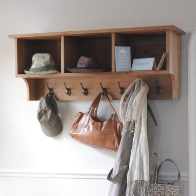 Coat Hooks & Shelves