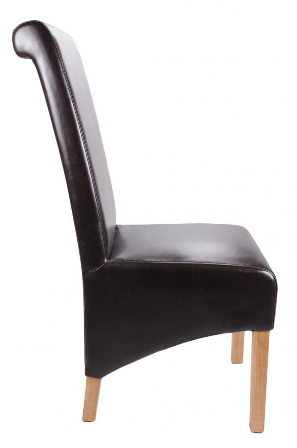 Krista Leather Dining Chair DISCONTINUED Simply Stunning Furniture