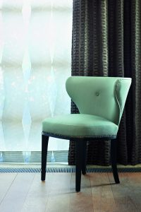Diamond Sheer Curtain Detail_C